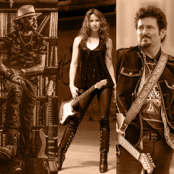 ERIC GALES + ANA POPOVIC + MIKE ZITO – The Pod Parties *Live